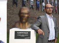 O heykeltraş bu kez Gareth Bale'i 'benzetti'