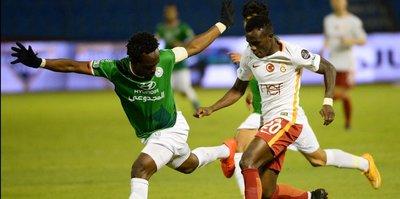 Galatasaray Suudi Arabistan'da dağıldı