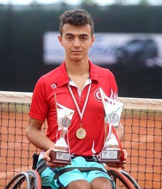 Bedensel engelli tenisçinin hedefi olimpiyat şampiyonluğu
