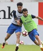 Jun Suk gol atmak için sabırsızlanıyor