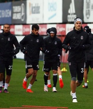 Beşiktaş, Bursaspor hazırlıklarını sürdürdü