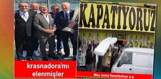 Fenerbahçe elendi!