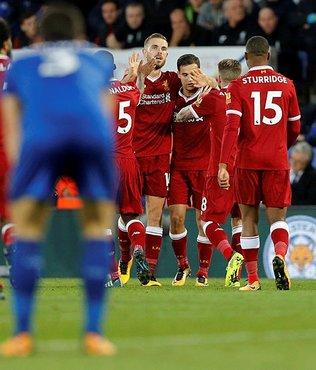 5 gollü maçta kazanan Liverpool