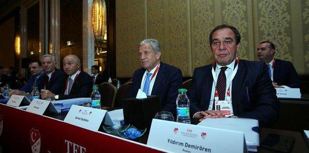 TFF Yönetimi ve kurulları ibra edildi