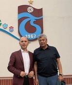 Başkan Usta ve teknik direktör Yanal'la görüştü