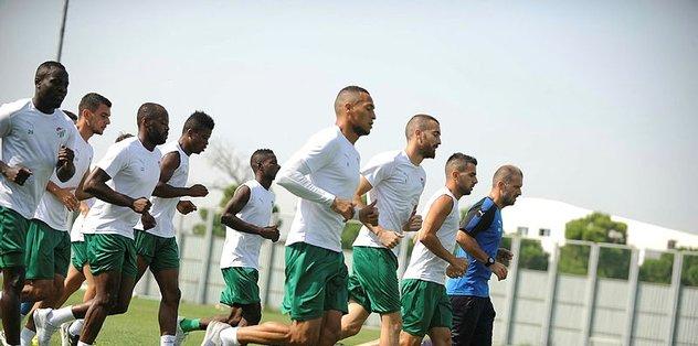 Bursaspor'da Malatyaspor maçının hazırlıkları sürüyor