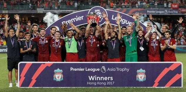 Asya Premier Lig kupası Liverpool'un