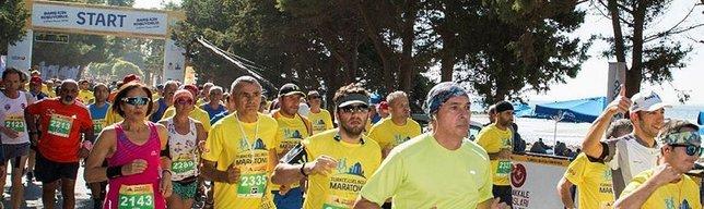 89 yaşında 10 km koştu
