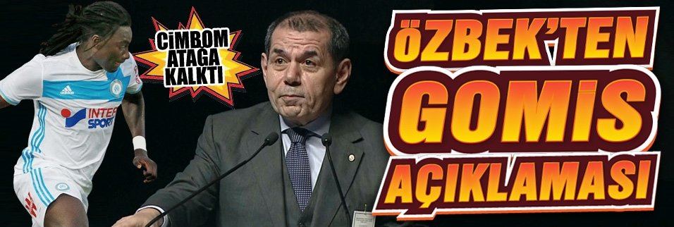 Dursun Özbek'ten Bruma ve Gomis açıklaması