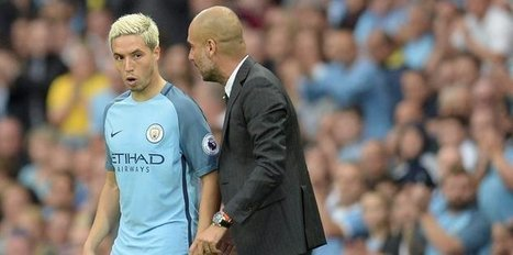 Guardiola talked about Nasri