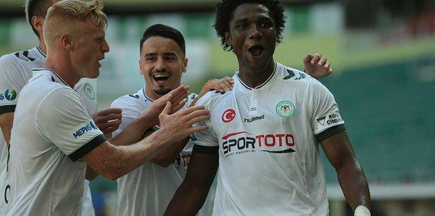 Konyaspor'dan müthiş zafer