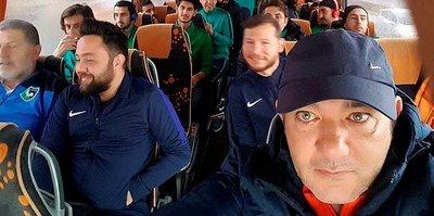 Denizlispor, Antalya'ya gitti