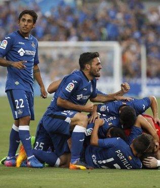 La Liga'ya yükselen son takım Getafe oldu