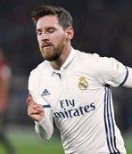 Messi Madrid formasını giydi