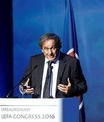 Platini 12. Olağanüstü UEFA Kongresi'nde konuştu: