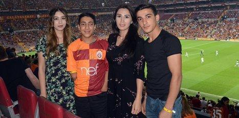 Türk Telekom Stadı'nda özel konuk