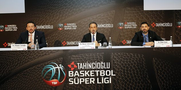 Tahincioğlu'ndan Basketbol Süper Lig'e tam destek