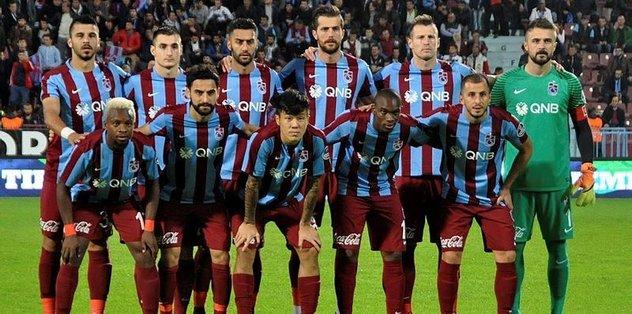Trabzonspor'da 7 maçta farklı kadro