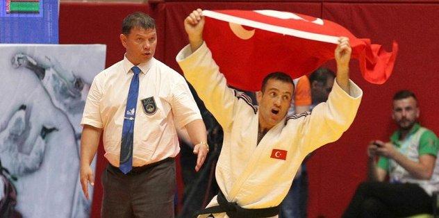 İkinci altın madalya yine Judo'dan