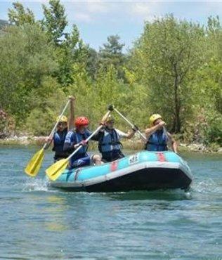 Muğla'nın rafting takımı şampiyonaya hazırlanıyor